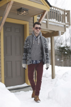 closetfreaksblog:  What I Wore Mountain Man - Preview  PS - Don't forget to enter our $250 Beso.com Giveaway!  Find us: FACEBOOK | TWITTER | BLOGLOVIN | PINTEREST | LOOKBOOK