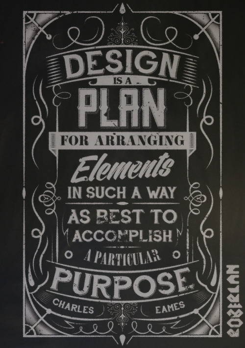 betype:  Charles Eames Typographic Quote (by roberlan)  Get inspired on Betype.co