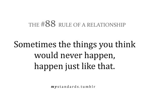 mystandards:  And that's not just true for the bad things in life, but for the GOOD things as well!