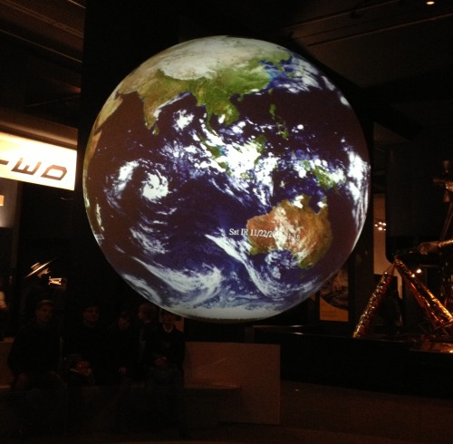 Projected Earth Science Museum, London