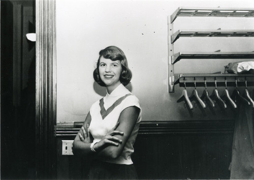 libraryjournal:   Today, on the 50th anniversary of Sylvia Plath's death, the Academy of American Poets is honoring the poet's life and work with her letters, journals, and poems. Discover 10 things that Sylvia Plath loved, including sun bathing, Marilyn Monroe, and The Joy of Cooking at poets.org.  Also, to mark the occasion, we have digitized archival letters from Sylvia that are a part of her years-long correspondence with the Academy of American Poets, where they are now available to the public for the first time.  From the Academy Archives: Letters from Sylvia
