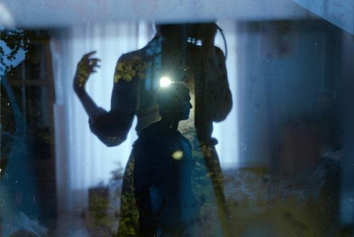 Polina Washington multiple exposure portrait film analogue photography shooting film featured