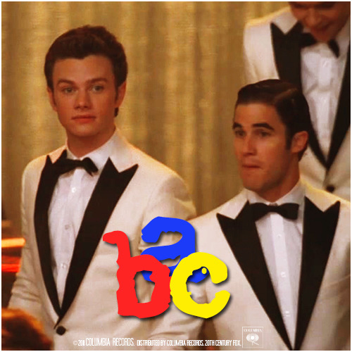 3x08 Hold On To Sixteen | ABC Alternative Cover 'Klaine Gaze Collection'