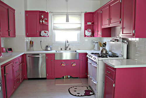 Hello Kitty kitchen!