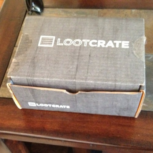 #LootCrate box of inevitable nerdification
