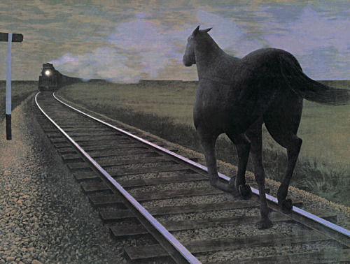 Alex Colville: Horse and Train