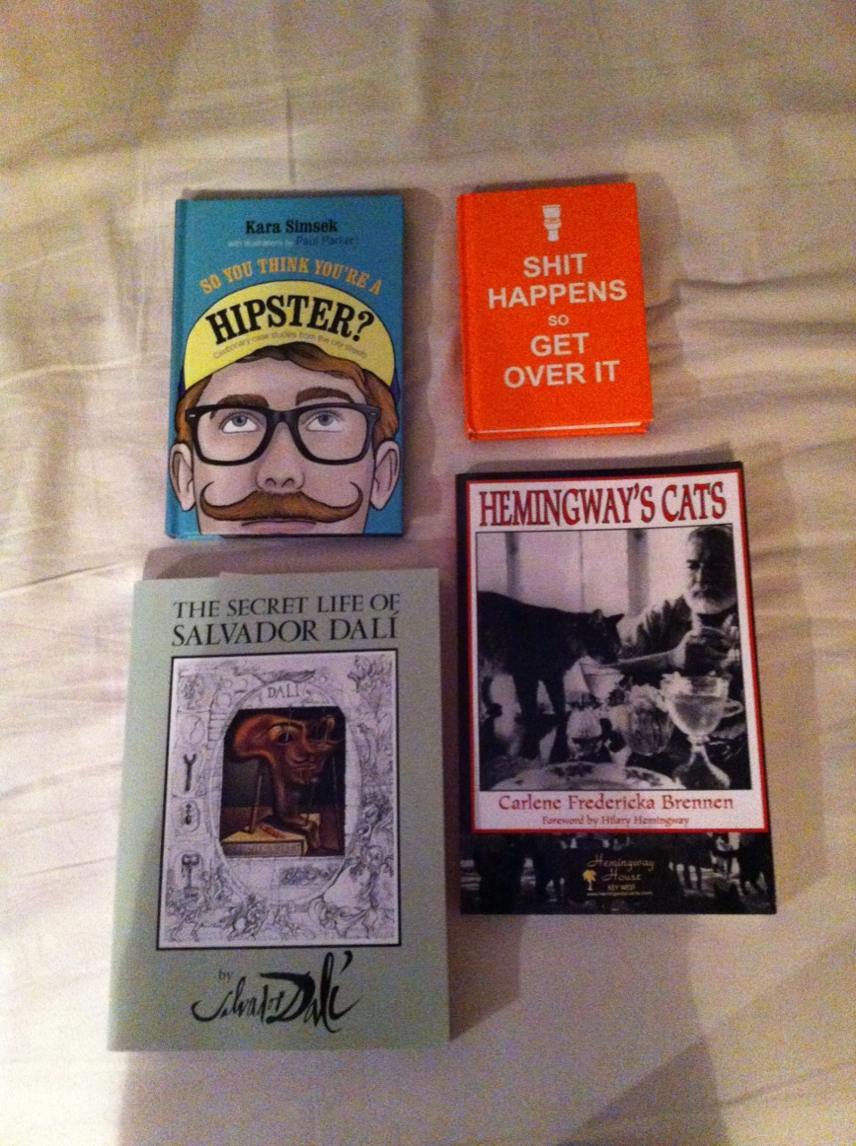 Books I bought on my Florida trip