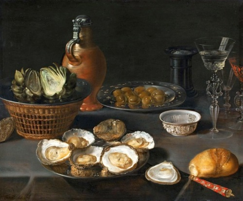 baroqueart:  Still Life with Artichokes by Osias Beert Date: 1610