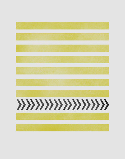 aplaceforart:  (STRIPES AND ARROWS) more art here