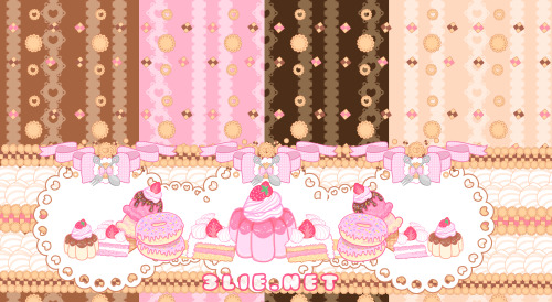 Sweet Tooth: Sweet Lolita Fabric Concept