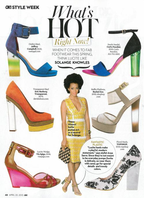 Biana in the April 22, 2013 issue of OK! magazine