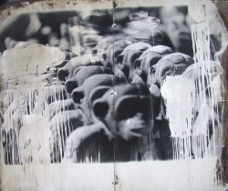 "See | Michael Pointer Interference - gelatin silver monotype print 72"" x 84"""