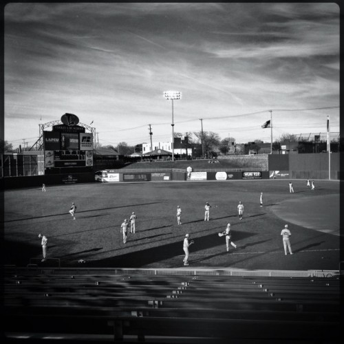 Current status: Going Nuts  at Cooley Law School Stadium by Robert on EyeEm