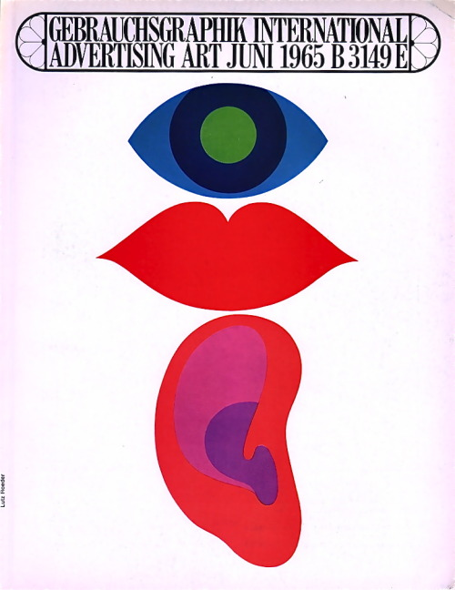 Gebrauchsgraphik International Advertising Art, 1965