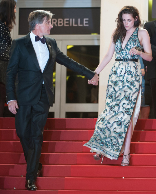 Viggo Mortensen and Kristen Stewart leaving the On the Road premiere at the Cannes Film Festival, May 23rd