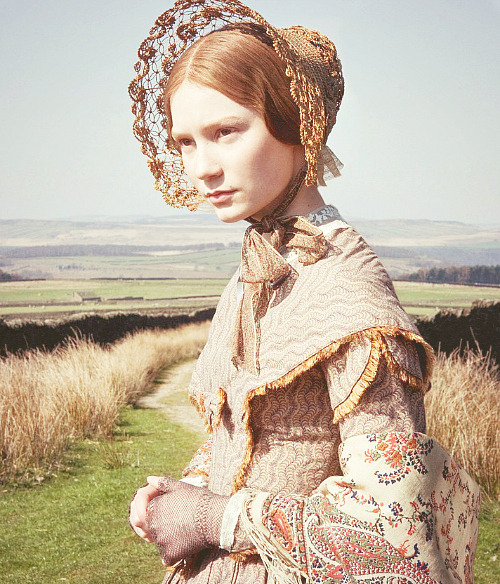 period ladies: mia wasikowska as jane eyre
