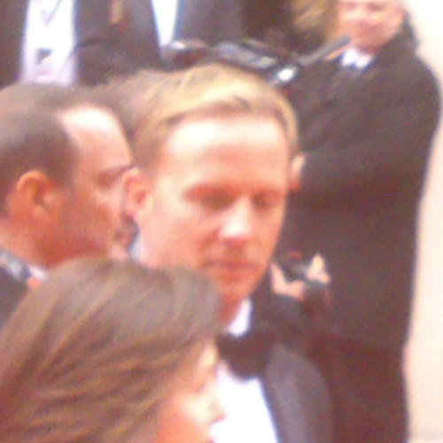 Tried to get a good picture of Rupert Penry Jones but he got spooked.