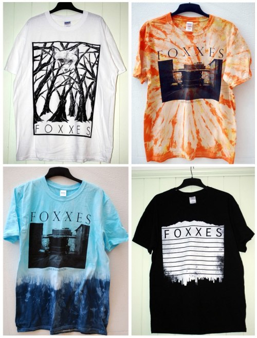 Foxxes got new merch available in their webstore..HELP THEM TO RECORD THEIR NEW ALBUM BUYING SOMETHING !!!www.foxxes.bigcartel.com