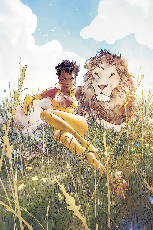 Cover Art for Vixen: Return of the Lion #1 by Joshua Middleton