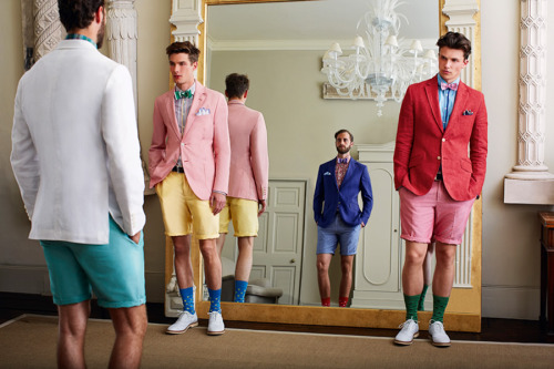purveyorsofcool:  mensfashionworld:  Hackett S/S 2013 campaign  I need places to go that justify this kind of get up.
