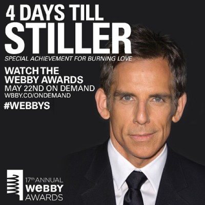 These are some really, really ridiculously good looking #Webbys. 4 DAYS!