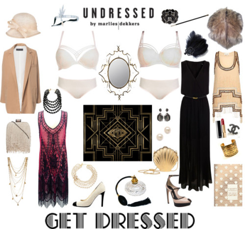 marliesdekkersofficial:   Get dressed in Great Gatsby style by marliesdekkersofficial featuring kate spade