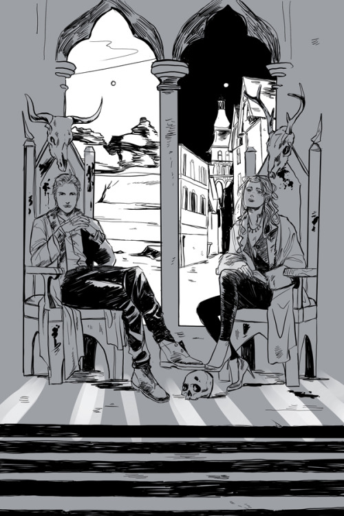 It's time to start the official countdown to City of Heavenly Fire coming 5.27! Grab the #COHF countdown widget now:http://shadowhunters.com/widget/And get ready for #TMITuesdays! Starting next week there will be a new #COHF related info revealed every Tuesday until the book goes on sale. Above: One of Cassandra Jean's ten illustrations forCity of Heavenly Fire.Each is a scene from the book.