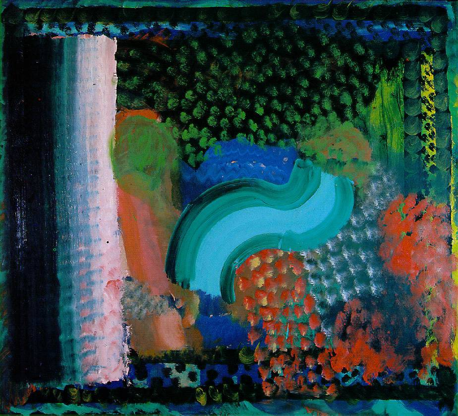 cavetocanvas:  Howard Hodgkin, In the Bay of Naples, 1980-82