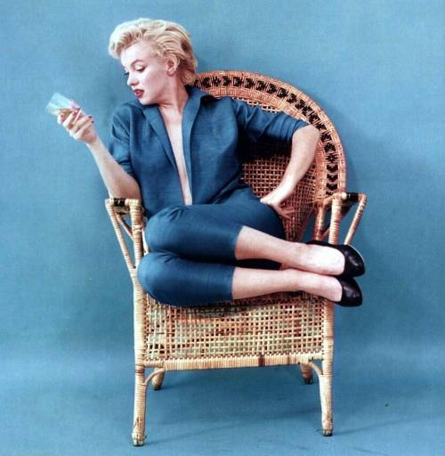 bohemea:  Marilyn Monroe by Milton Greene, 1954