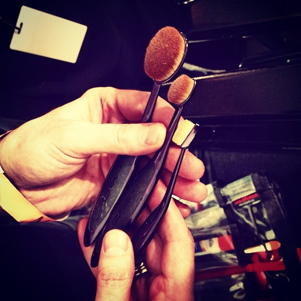 officialstyledotcom:  @maccosmetics debuts the makeup brush of the future @nyfw, and we've got all the exclusive details http://stylem.ag/XDpOPP. CE