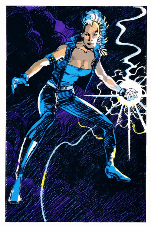 charactermodel:  Storm by Barry Windsor-Smith?  Yes! Barry Windsor-Smith!