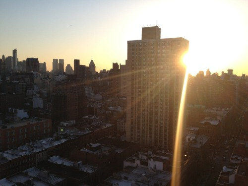 Sunset, NYC.