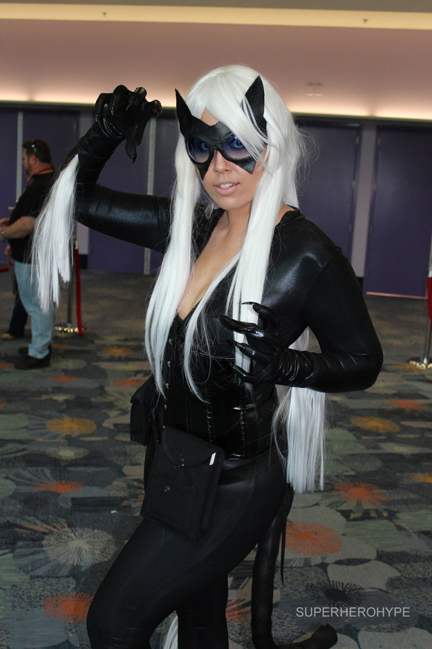 Wonder Con - 2013 The Black Cat via superherohype.com