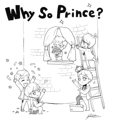 thornbackfish:  Why So Serious?Why So Prince?<3