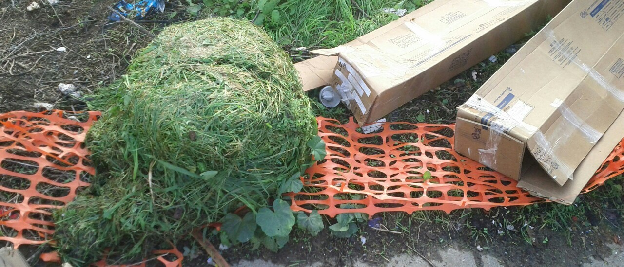 Cut grass Tribble!