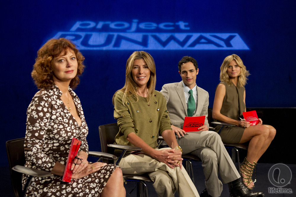 And this Thursday on Project Runway… Susan Sarandon!!!!
