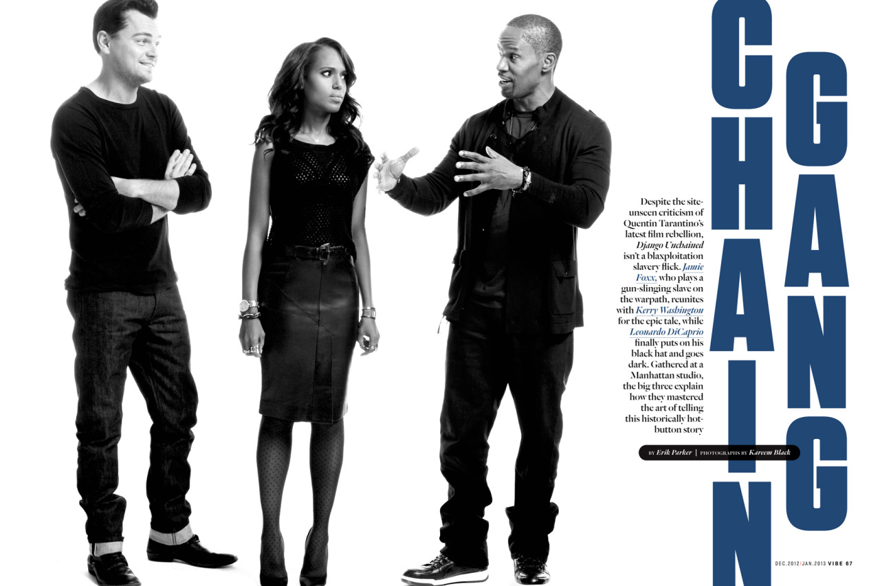 Django article for Vibe  ( opening spread )