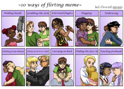 Ten BICP Pairings by *SailorPtah A meme of various fan-nominated ships (and friendships…and hateships). Four f/f. Jany/Kara Lynn was only based on concept art at that point — and by now they're the only ones who have canonically made out. Go figure. No m/m yet…granted, back in late 2011 when this was done, the comic might not even have passed reverse!Bechdel. I have a feeling the results would be different now. _____ Comic | Facebook | deviantART | Blog