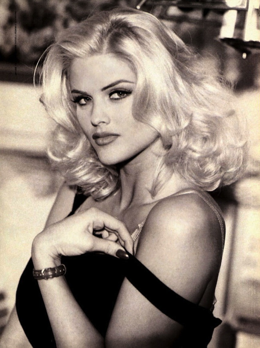 localshop:  Anna Nicole Smith for Guess