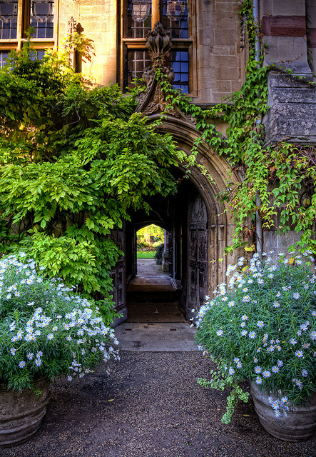 The Chapel Passage, Balliol College, Oxford by sdhaddow on Flickr.