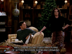 Merry Christmas Christmas quotes television tv show christmas card will and grace karen walker megan mullally Will & Grace