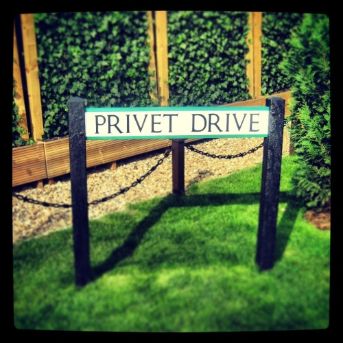 4 Privet Drive - London If you ever find yourself in London, don't forget to visit Harry Potter's house.