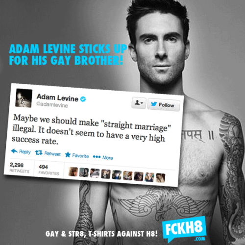 PHOTO of the day | March 17, 2013 | Adam LEVINE