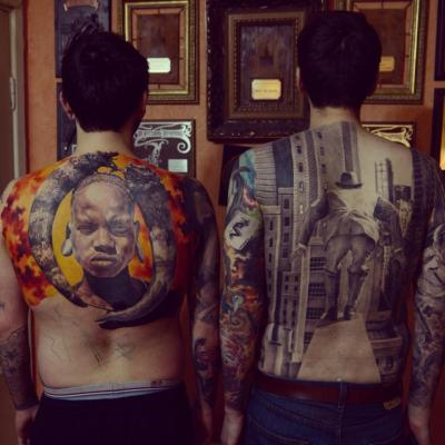 www.facebook.com/radurusutattoo Backpieces by Den Yakovlev, Moscow