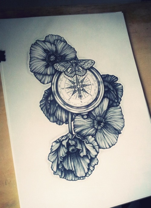 Tattoo design ideas Compass
