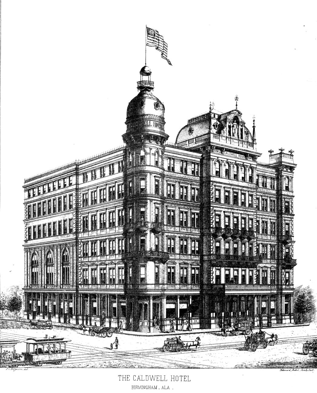 The Caldwell Hotel, Birmingham, Alabama