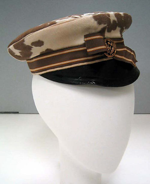 Motoring Cap 1905 The Metropolitan Museum of Art