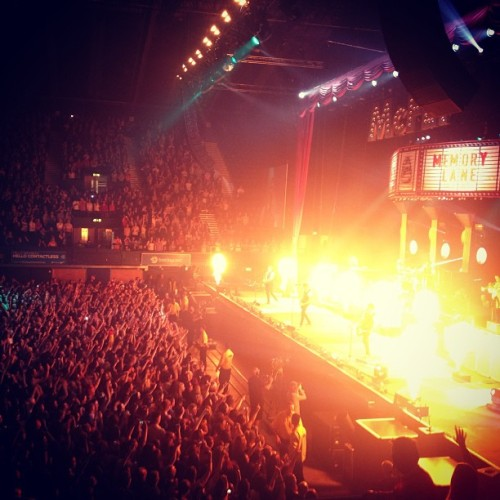 giovannafletcher1:  Mcfly were on fire last night. SO awesome! Very proud of @tommcfly and co. Xx