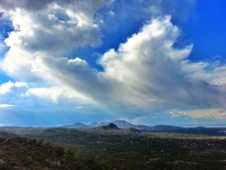 View from Quartz mountain in Prescott