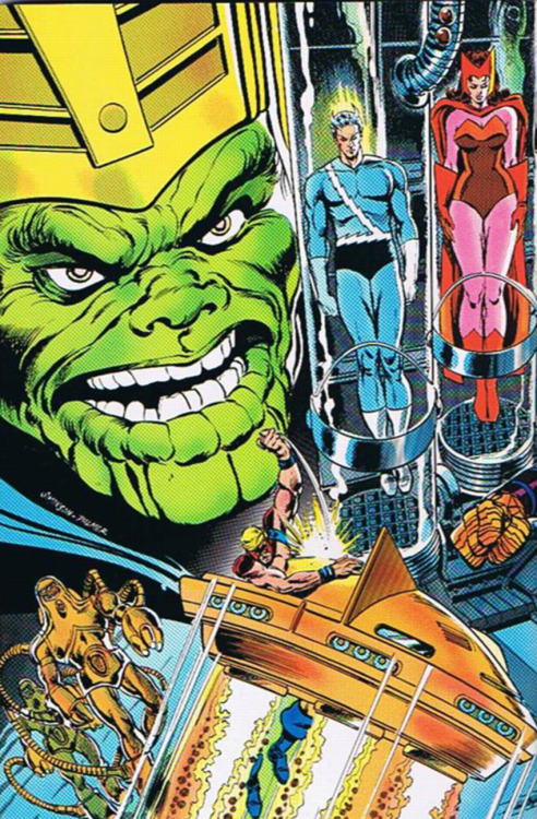Skrulls Versus The Avengers by Walt Simonson and Tom Palmer